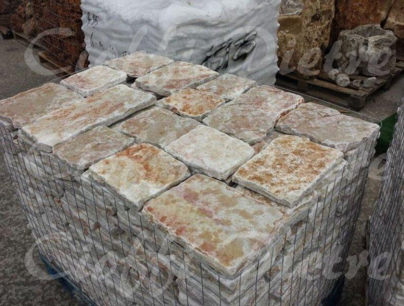 Piastrelle in pietra di trani chianca cioffi pietreditrani - Piastrelle tipo pietra ...