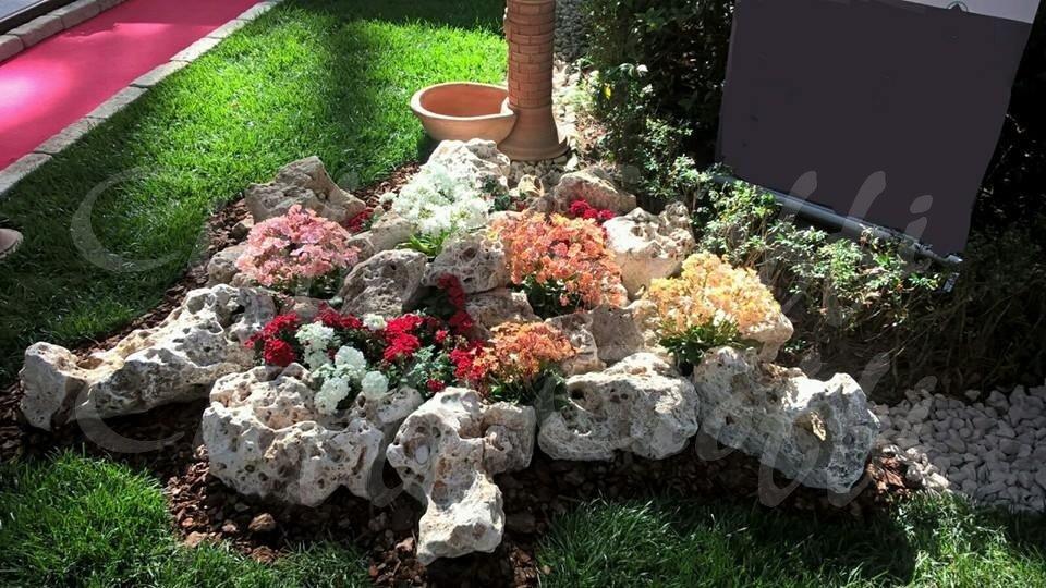Rocce da giardino anticate della murgia cioffi pietreditrani - Rocce da giardino ...