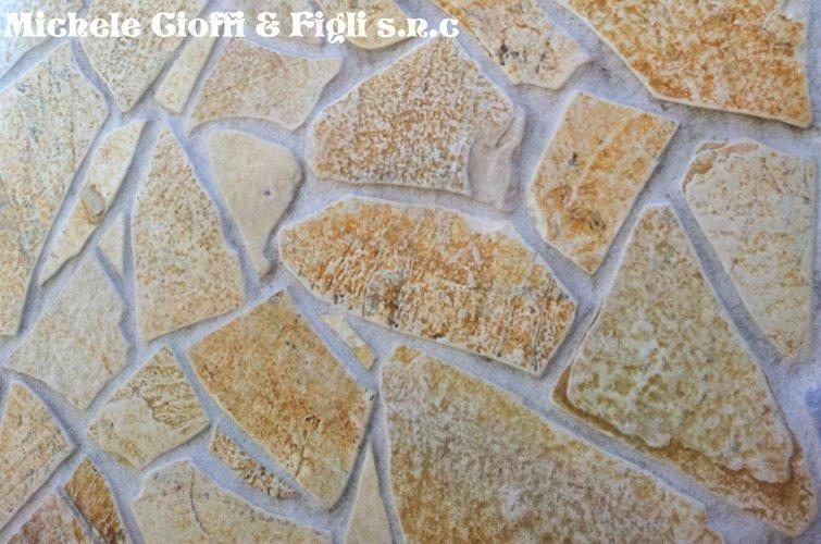 Pietra Albanese Anticata Mosaico