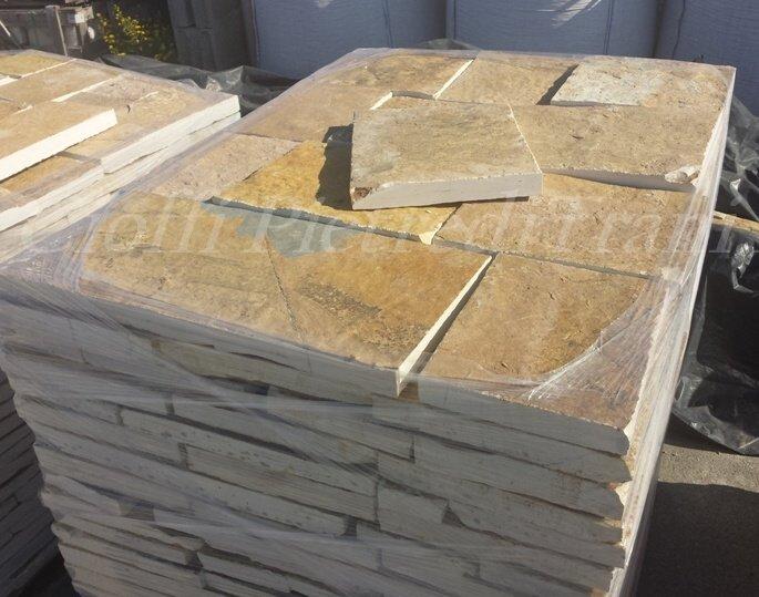 Pietra albanese piastrelle segate cioffi pietreditrani - Piastrelle di pietra ...