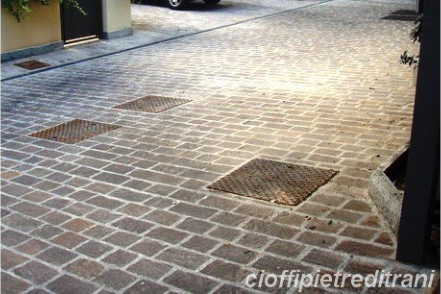 Porfido Trentino Piastrelle Tranciate