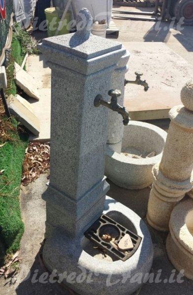 Fontane in granito da giardino cioffi pietreditrani - Fontane in marmo da giardino ...