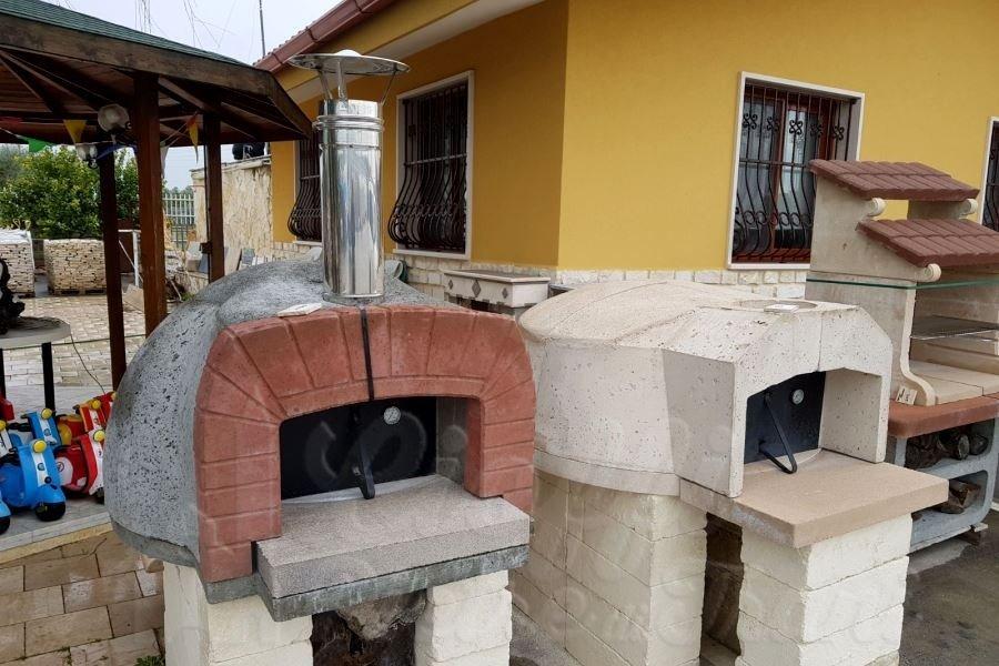 Forni a legna per pizza refrattari cioffi pietre di trani - Forni per pizza a legna per casa ...